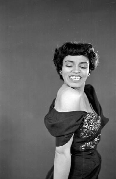Revue Photograph - Revue Singer by Bert Hardy