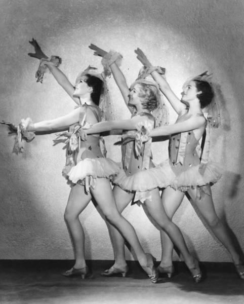 Revue Photograph - Revue Trio by Sasha