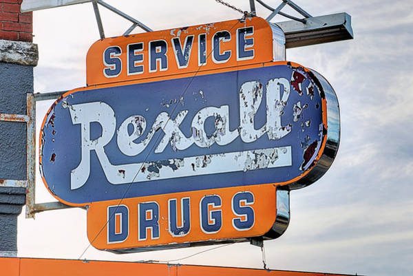 Photograph - Rexall Drugs by JC Findley