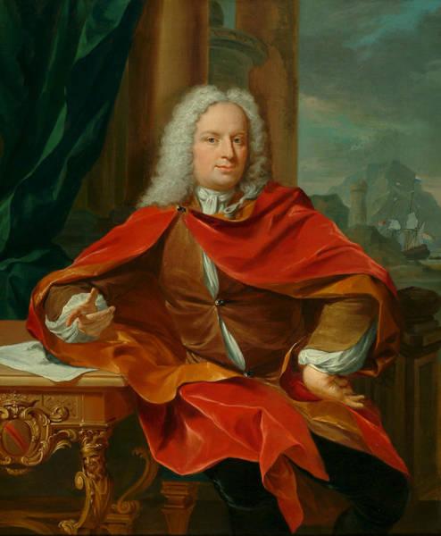 Painting - Reyer Van Der Burch by Nikolaas Verkolje