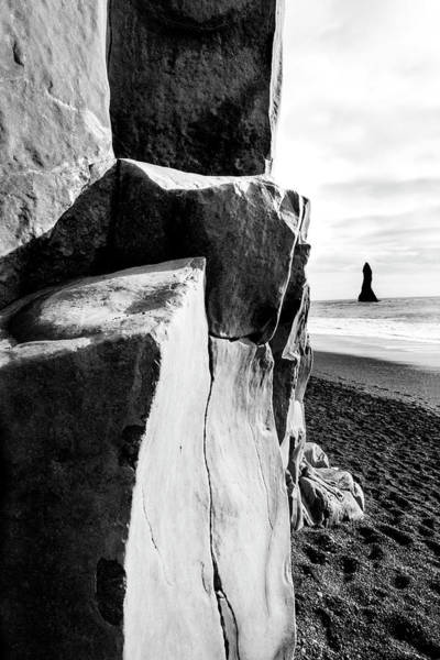 Photograph - Reynisfjara Beach #1 by Kathryn McBride