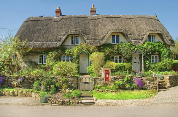 Idealistic Wall Art - Photograph - Reyview Cottage  by John Chivers