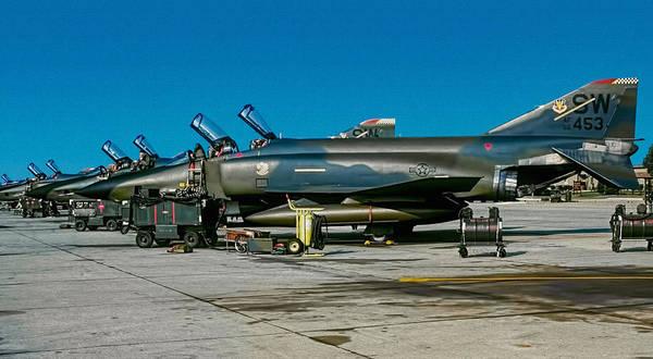 Phantom Digital Art - Rf-4c Flightline by Dale Jackson