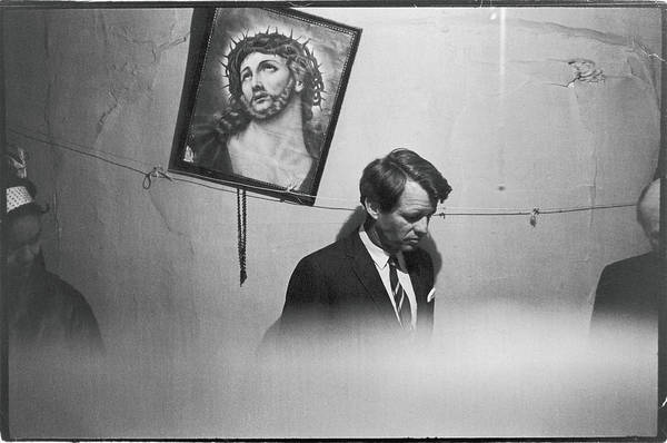 Apartments Photograph - Rfk Tours A Tenement by Fred W. McDarrah