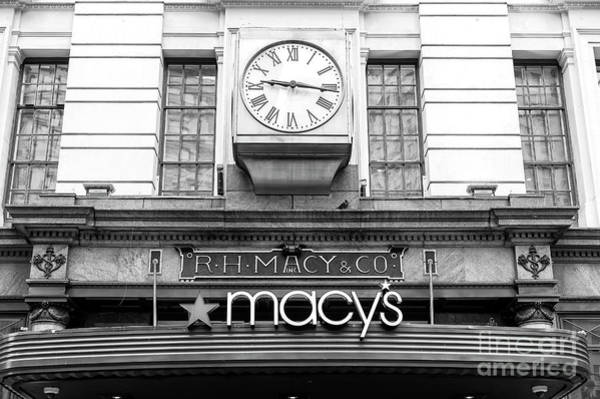 Wall Art - Photograph - R.h. Macy And Co. New York City by John Rizzuto