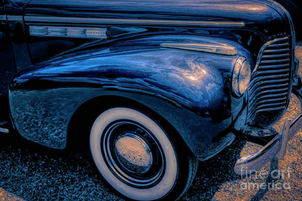 Photograph - Rhapsody In Blue Buick by Janice Pariza