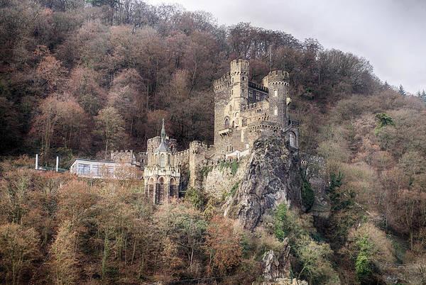 Photograph - Rheinstein Castle On The Rhine River by Steve Estvanik