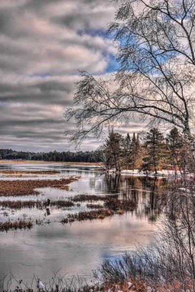 Photograph - Rhinelander Flowage November Morning by Dale Kauzlaric