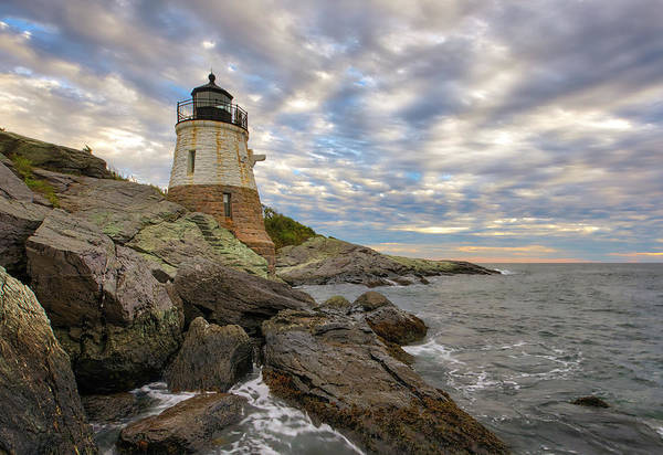 Photograph - Rhode Island Castle Hill Lighthouse by Juergen Roth