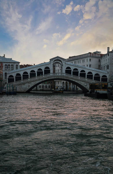 Wall Art - Photograph - Rialto  Bridge At Sunrise by Jaroslaw Blaminsky