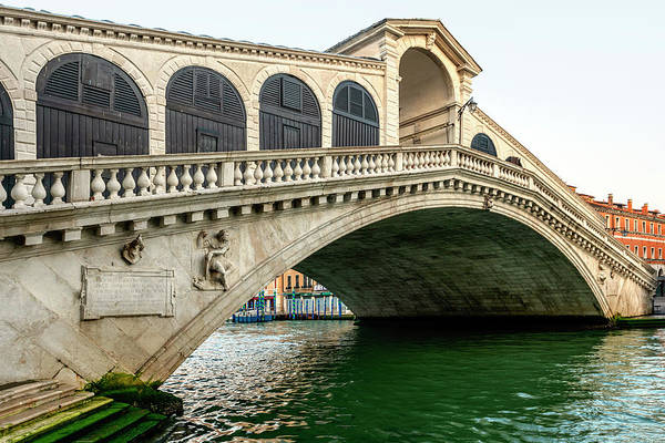 Wall Art - Photograph - Rialto Bridge by Svetlana Sewell