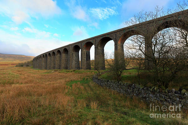 Taper Photograph - Ribblehead Viaduct On The Settle Carlisle Railway North Yorkshire by Louise Heusinkveld