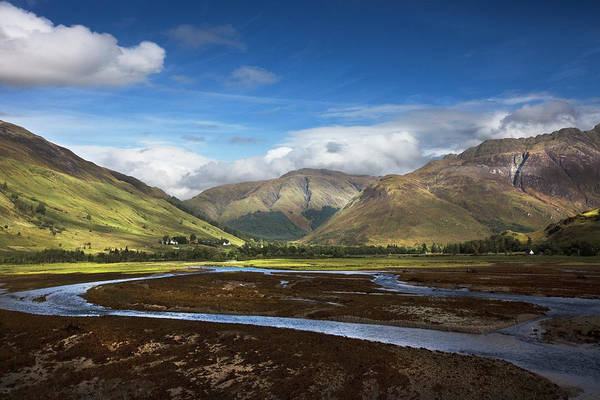 Fairy Pools Photograph - Ribbon Of Blue by Debra and Dave Vanderlaan