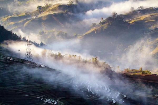 Laos Photograph - Rice Terraces In Sapa by Hoang Giang Hai