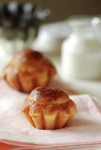 Napkin Photograph - Rich Mans Brioche by Lucytxcicipeng