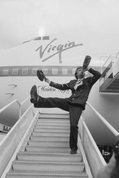 Businessman Photograph - Richard Branson by Terry Disney