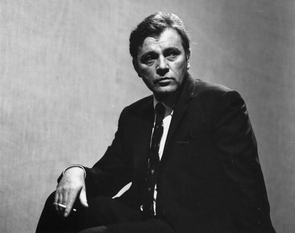 Human Interest Photograph - Richard Burton by Evening Standard