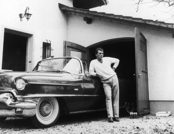 Wall Art - Photograph - Richard Burton With Cadillac by Hulton Archive