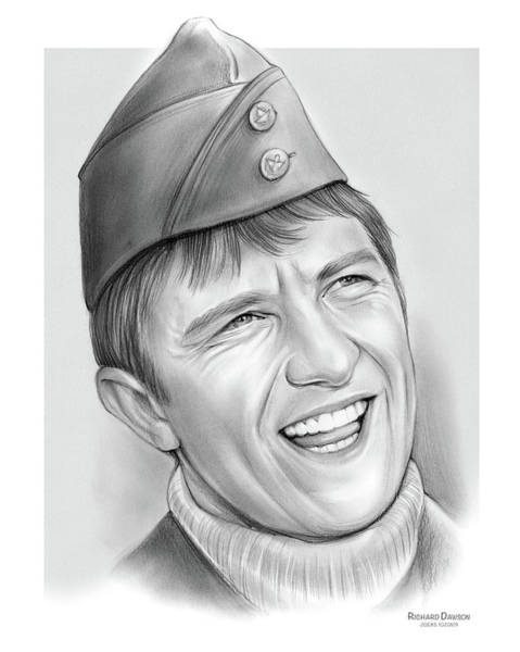 Wall Art - Drawing - Richard Dawson by Greg Joens