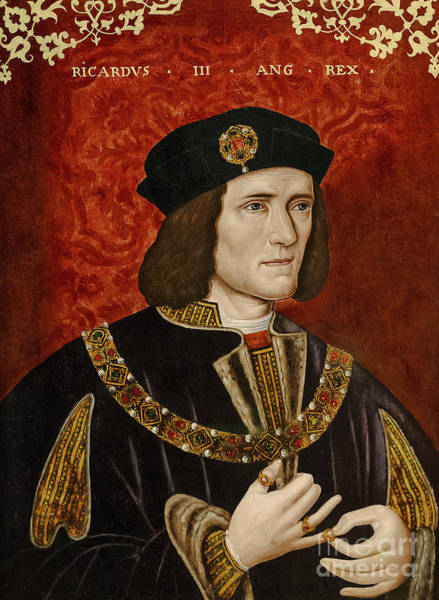 Wall Art - Painting - Richard IIi  Oil On Panel by English School