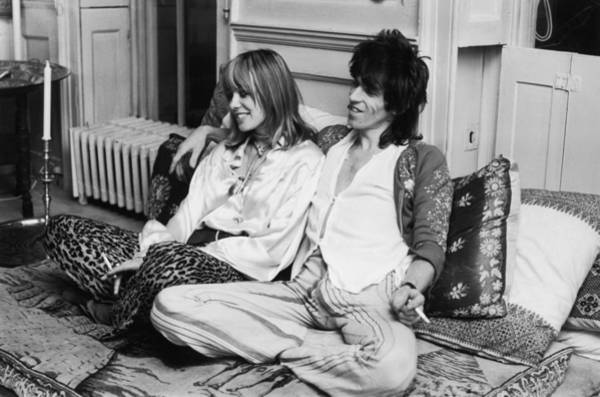 Photograph - Richards And Pallenberg by Mccarthy