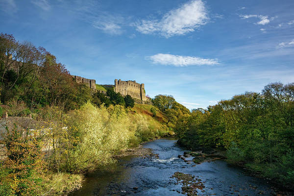 Rivers Mixed Media - Richmond Castle by Smart Aviation