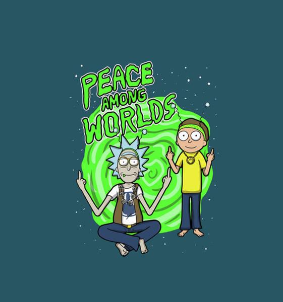 Wall Art - Digital Art - Rick And Morty 2 by Geek N Rock