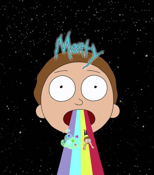 Wall Art - Digital Art - Rick And Morty 5 by Geek N Rock