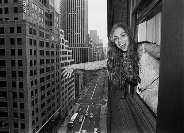 New Wave Music Photograph - Rickie Lee Jones Portrait Session by George Rose