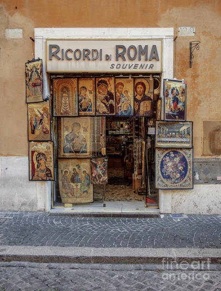 Photograph - Ricordi Di Roma by Craig J Satterlee