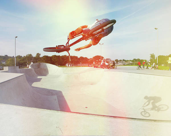 Skateboard Photograph - Rider 1c by Mark Leary