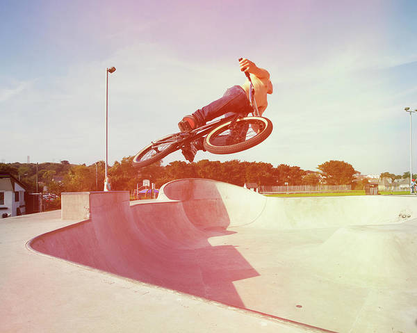 Skateboard Photograph - Rider  3c by Mark Leary