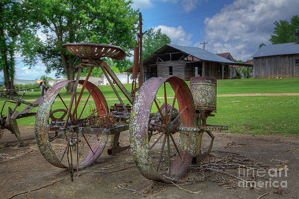 Wall Art - Photograph - Riding Cultivator  by Larry Braun