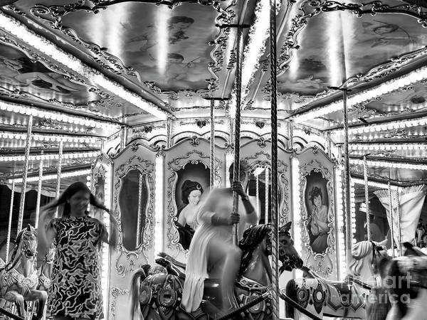 Photograph - Riding The Carousel Florence by John Rizzuto