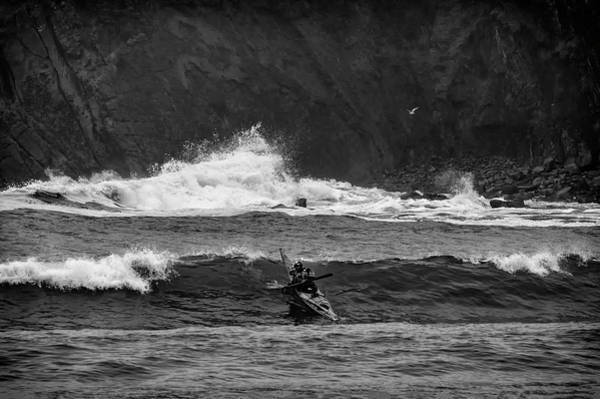 Photograph - Riding The Waves by Steven Clark