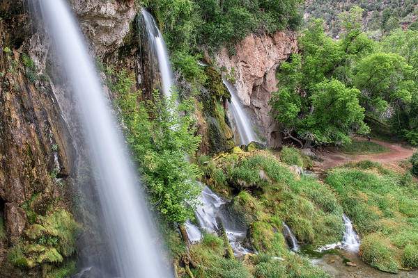 Photograph - Rifle Falls by Angela Moyer