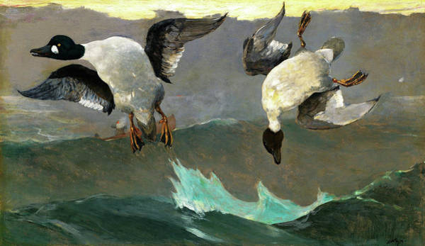 Wall Art - Painting - Right And Left - Digital Remastered Edition by Winslow Homer