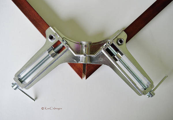 Photograph - Right Angle Clamp by Kae Cheatham