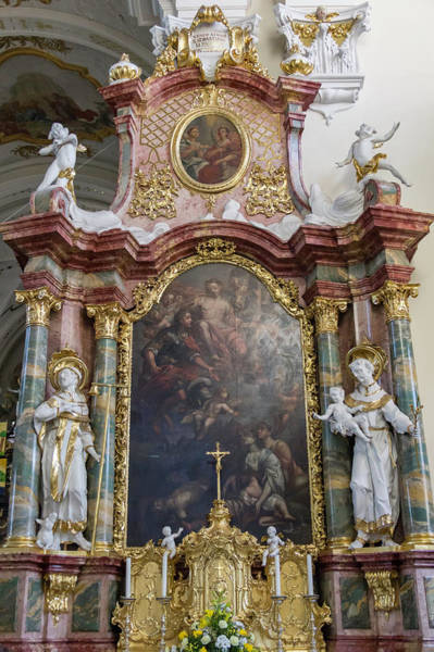 Wall Art - Photograph - Right Side Of The Altar by Teresa Mucha