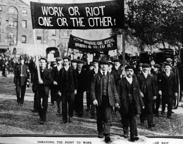 Determination Photograph - Right To Work by Hulton Archive