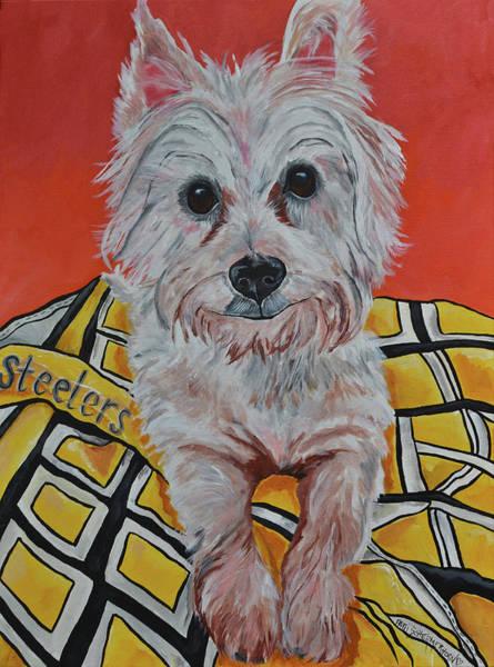 Painting - Riley by Patti Schermerhorn
