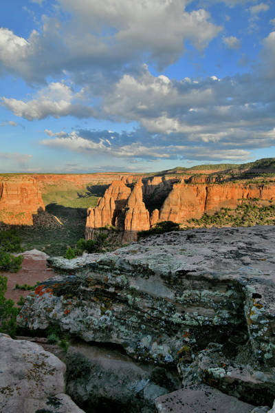 Photograph - Rim Trail View Of Monument Canyon by Ray Mathis