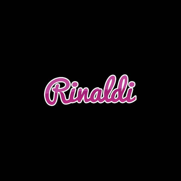 Wall Art - Digital Art - Rinaldi #rinaldi by TintoDesigns