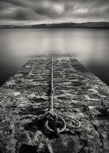 Wall Art - Photograph - Ring And Rope by Dave Bowman