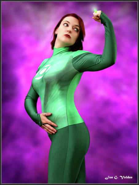 Photograph - Ring Of The Green Lantern by Jon Volden