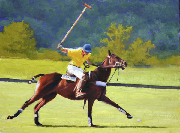Polo Wall Art - Painting - Ringer by Armand Cabrera