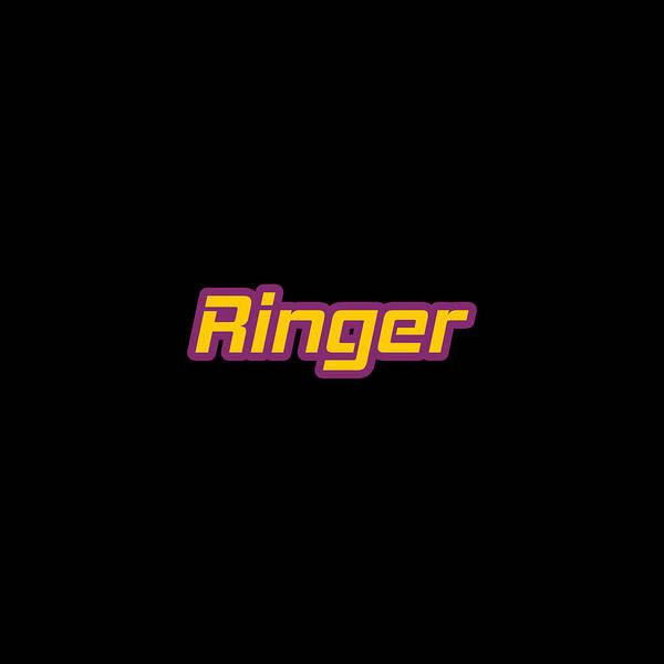 Wall Art - Digital Art - Ringer #ringer by Tinto Designs
