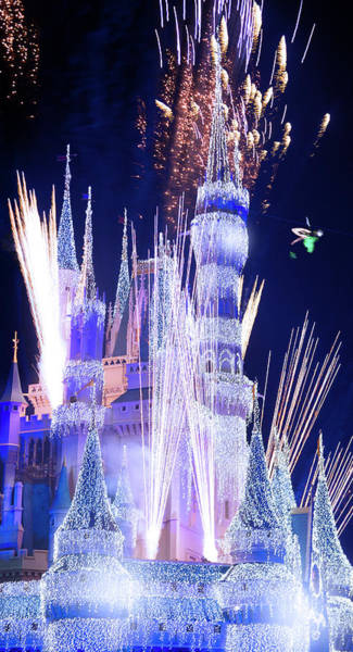 Wall Art - Photograph - Ringing In The New Year At Disney by Mark Andrew Thomas