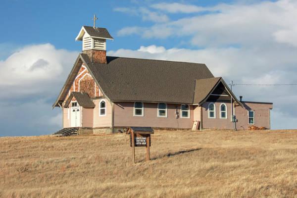 Photograph - Ringling Church by Todd Klassy
