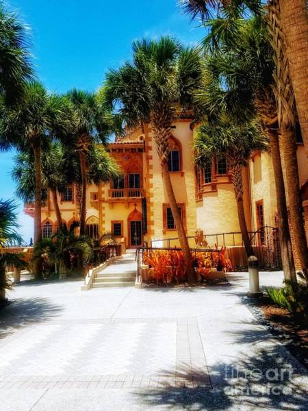 Photograph - Ringling Mansion 2 2019 by Rachel Hannah